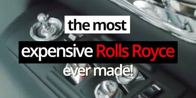Carro Rolls Royce.