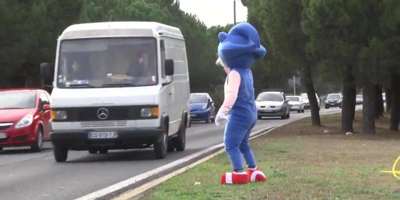 Sonic é contra radar e placas de limites de velocidade, mas se deu mal no final!