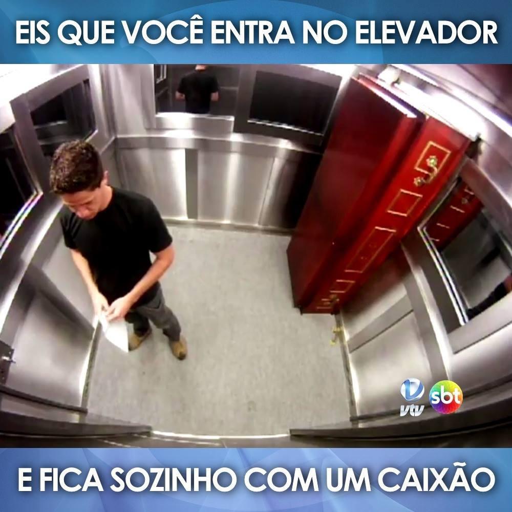 NO ELEVADOR CAIXAO BAIXAR VIDEO
