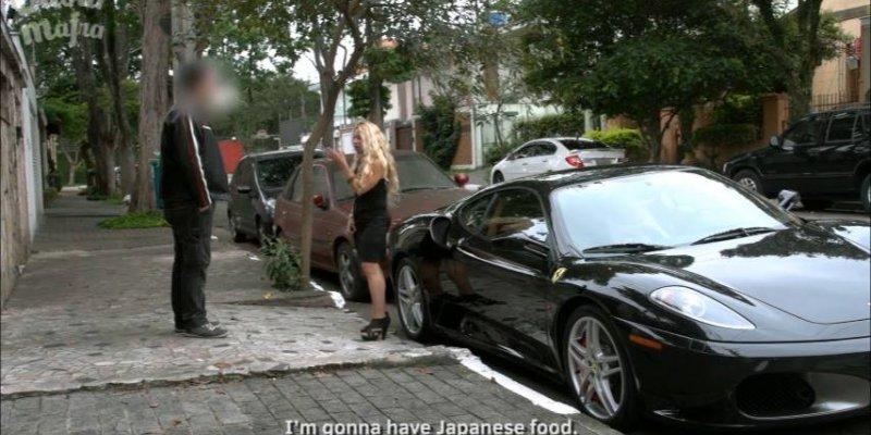 Veja a pegadinha da Ferrari, agora testando o grau de interesse dos homens...