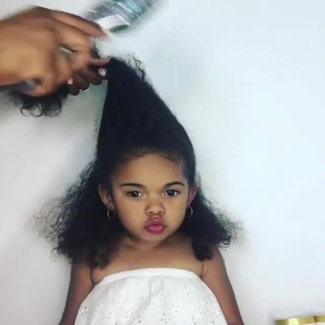 Penteado Para Criança Com Cabelo Crespo O Resultado é Lindo