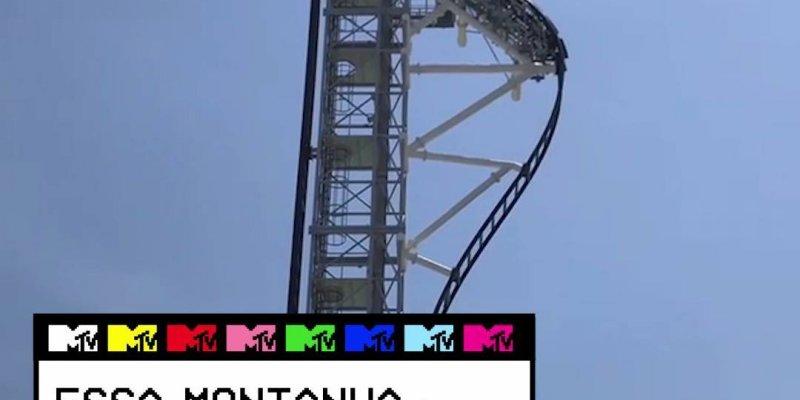 Vídeo com impressionante montanha russa que fica no Japão, olha só que queda!!!