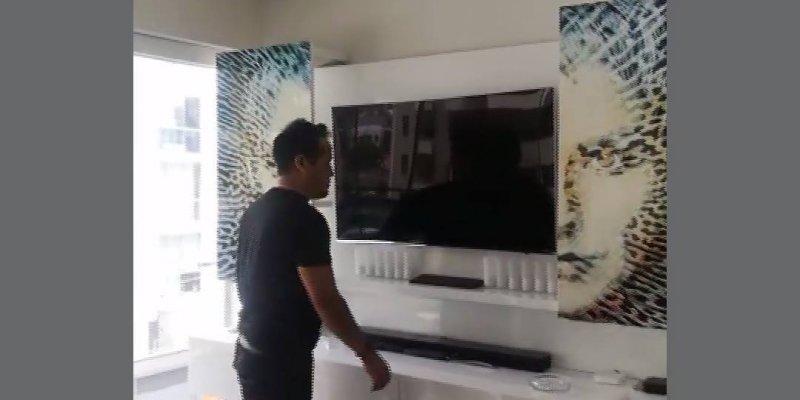 Painel para colocar televisão simplesmente magnifico, lindo!!!