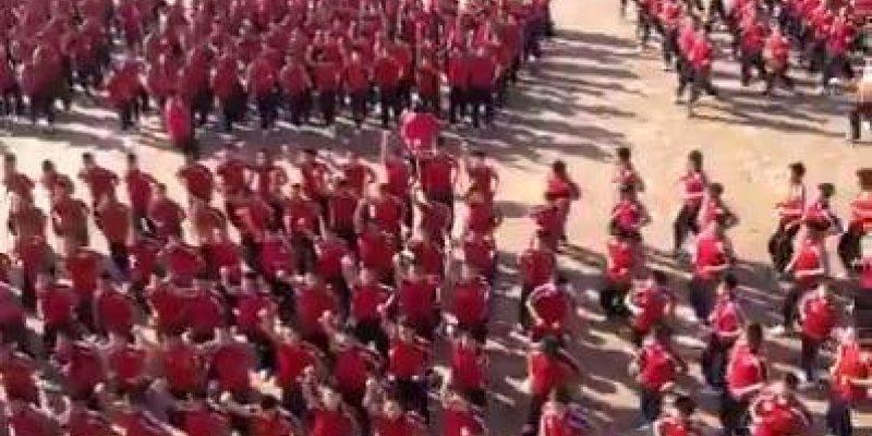 Apresentação incrivel dos estudantes de Shaolin Tagou, perfeito, magnifico!!!