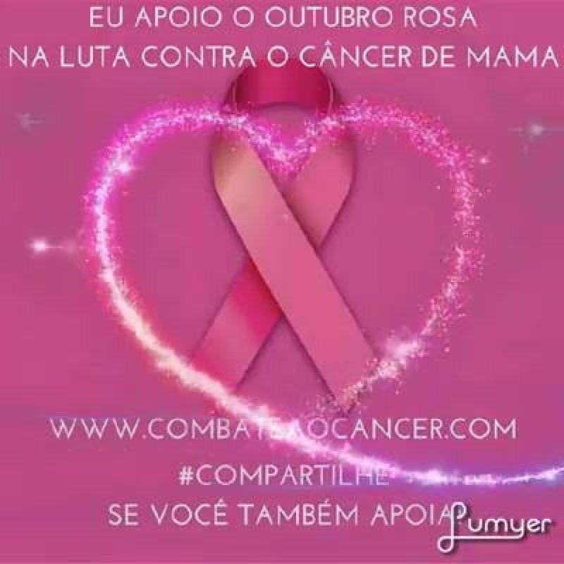 Campanha Outubro Rosa Todos Juntos Na Luta Contra O Câncer De Mama