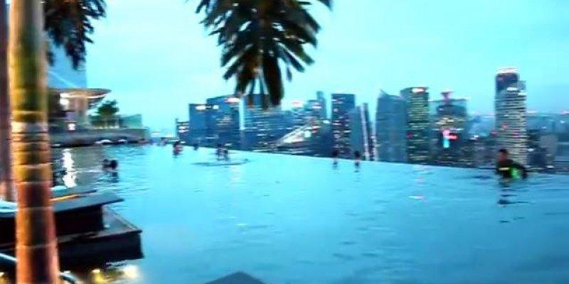 Esse vídeo é impressionante! Você já viu a piscina mais alta do mundo?