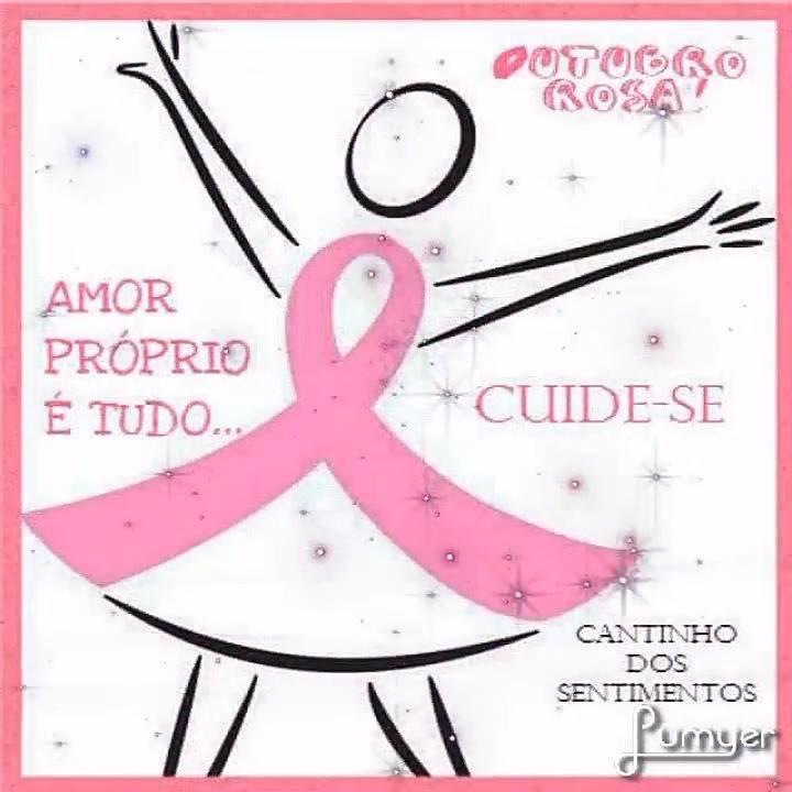 Extremamente Muito legal essa mensagem! O mês de outubro é todo rosa, cuide-se!!! SW91
