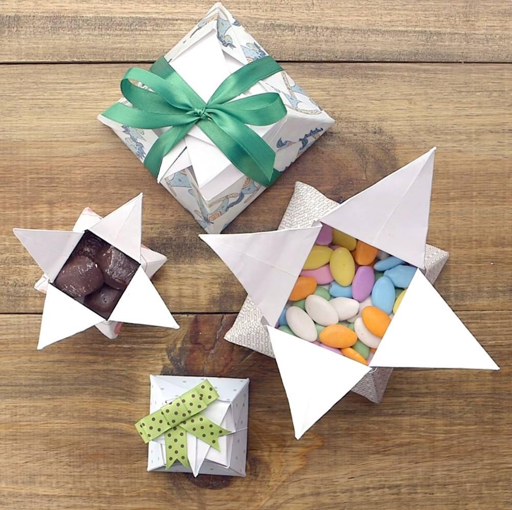 Tutorial De Caixa De Presente Origami Um Jeito Fácil E Barato De