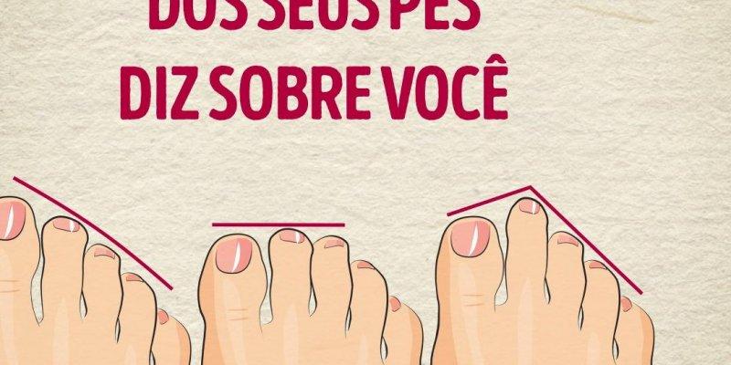 Você sabia que o formato dos seus pés podem ter algo a dizer sobre você?