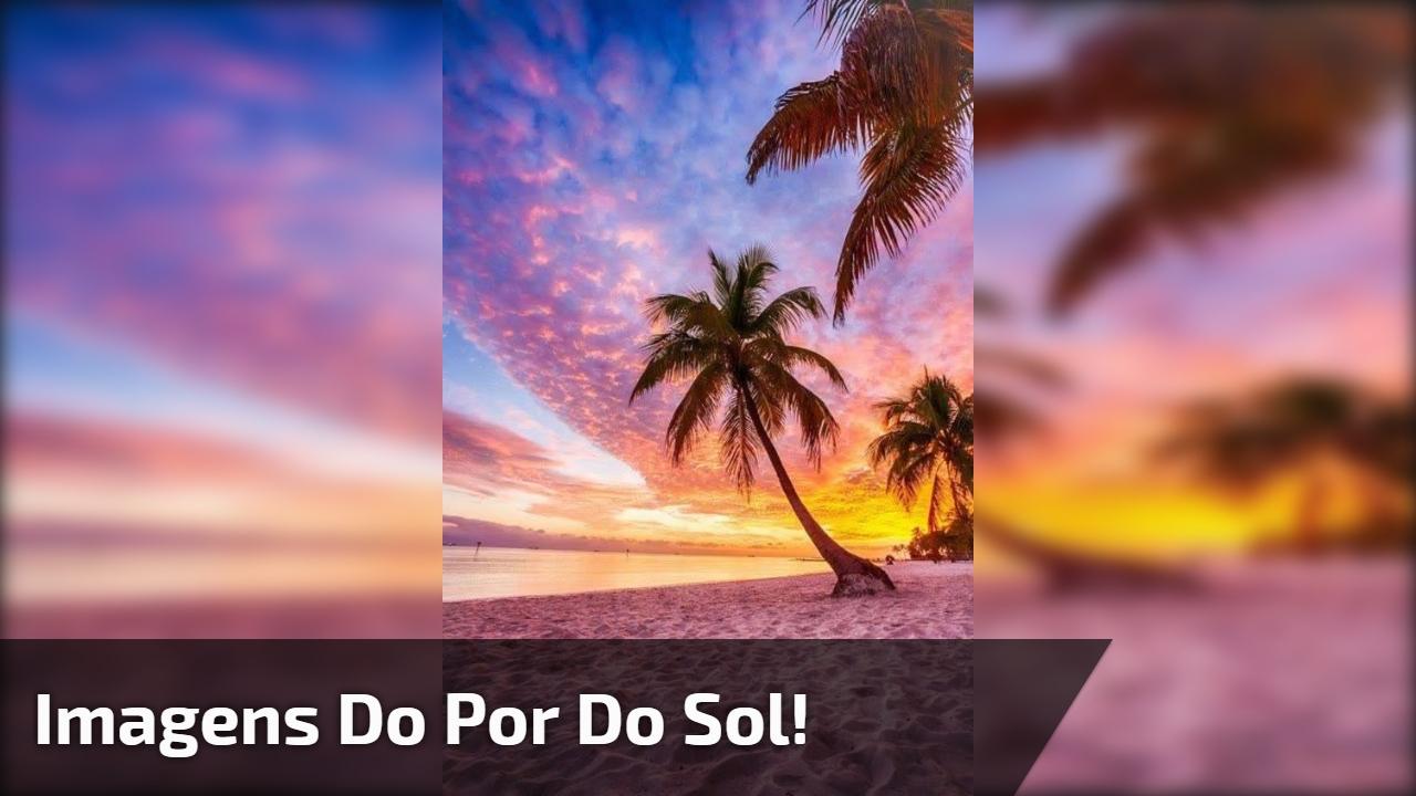 Vídeo Com Lindas Imagens Do Por Do Sol Como é Bela Nossa Natureza
