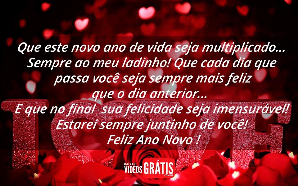 Imagem De Feliz Ano Novo Com Linda Mensagem De Amor Que Este Novo