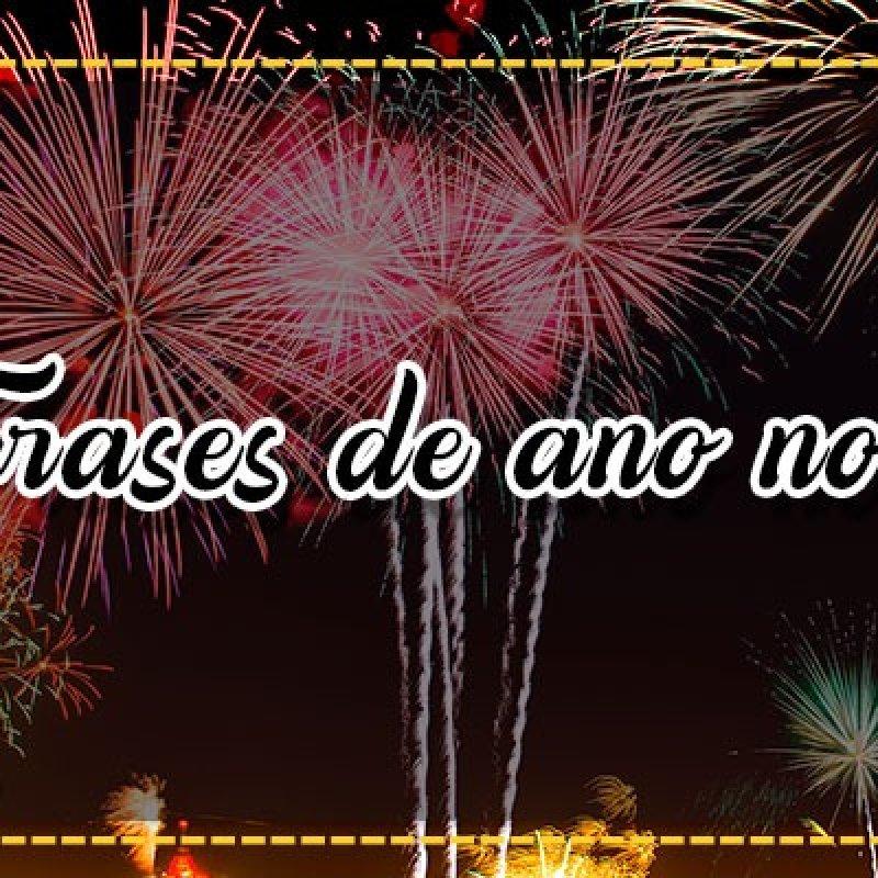 Frases De Ano Novo Vida Nova Chegou O Ano Novo Feche Os Olhos