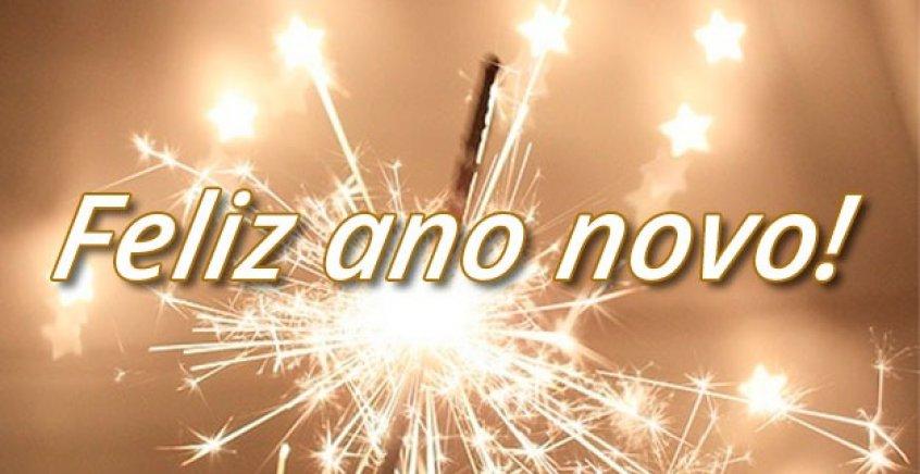 Vído De Mensagem De Feliz Ano Novo Para Todos Amigos Do