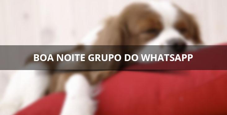 Imagens De Boa Noite Grupo: Mensagem De Boa Noite Para Grupos Do Whastapp, Boa Noite