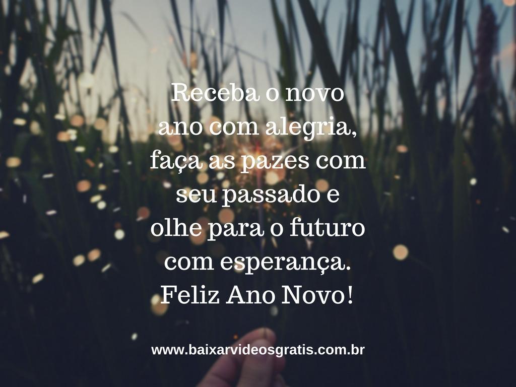 Imagem Com Frase Linda De Boa Noite Para Ano Novo Faça As Pazes Com