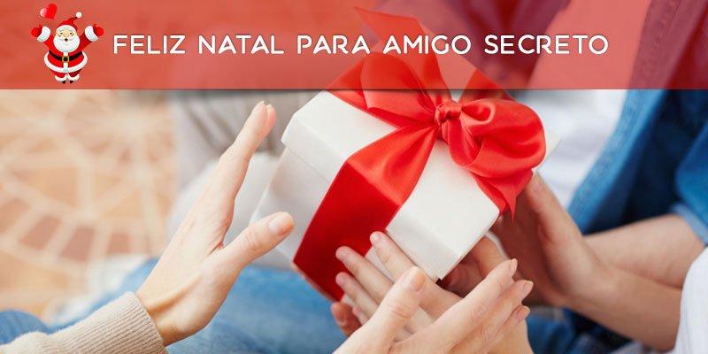 Mensagem de Feliz Natal para amigo secreto, olha só que linda mensagem!!!