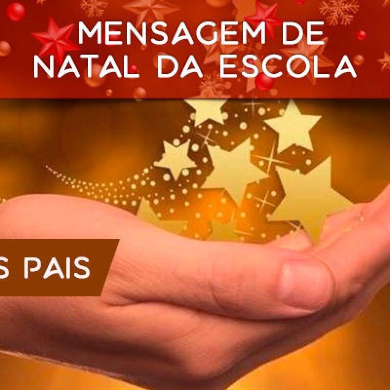 Mensagem De Natal Da Escola Para Os Pais Dos Alunos Feliz Natal A