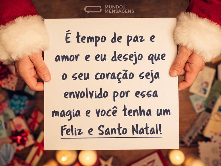 Imagem Belíssima Com Frase De Feliz Natal Para Enviar Para Os Amigos