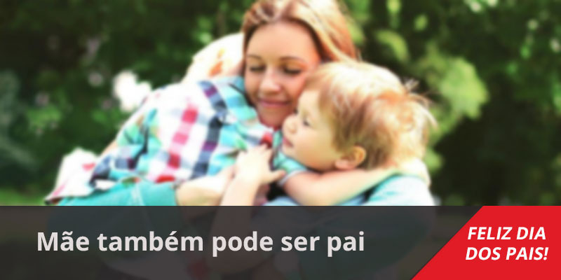 Mensagem Dia Dos Pais Pra Mãe Mãe Também Pode Ser Pai Feliz Dia