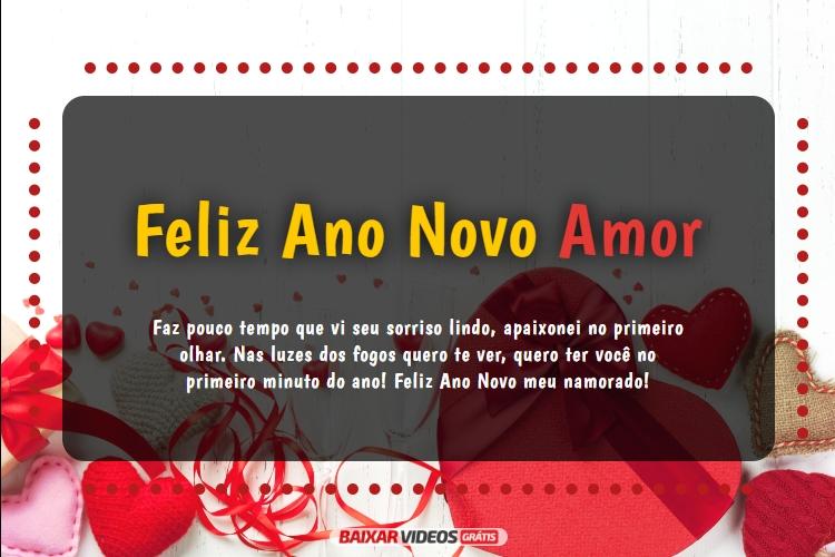 Para Namorado Recente Uma Linda Mensagem De Feliz Ano Novo