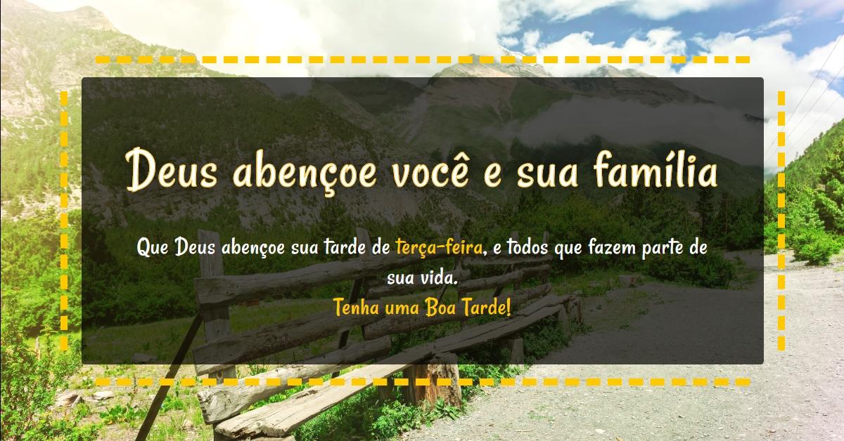 Deus Abençoe Você E Toda A Sua Família: Deus Abençoe Você E Sua Família