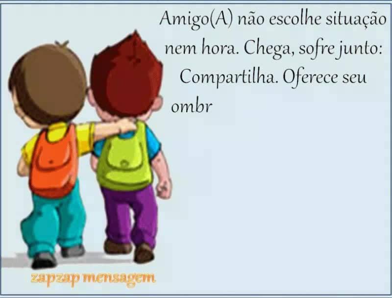 Mensagem De Amizade Para Amigo Ou Amiga Especial! Conte