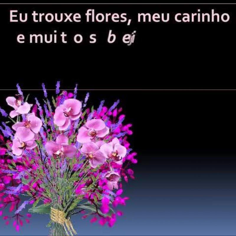 Vídeo Com Flores E Mensagem De Carinho Para Desejar Boa Tarde Para