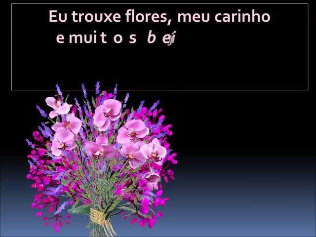Frase De Boa Noite Carinhosa Com Flores Frases De Musicas