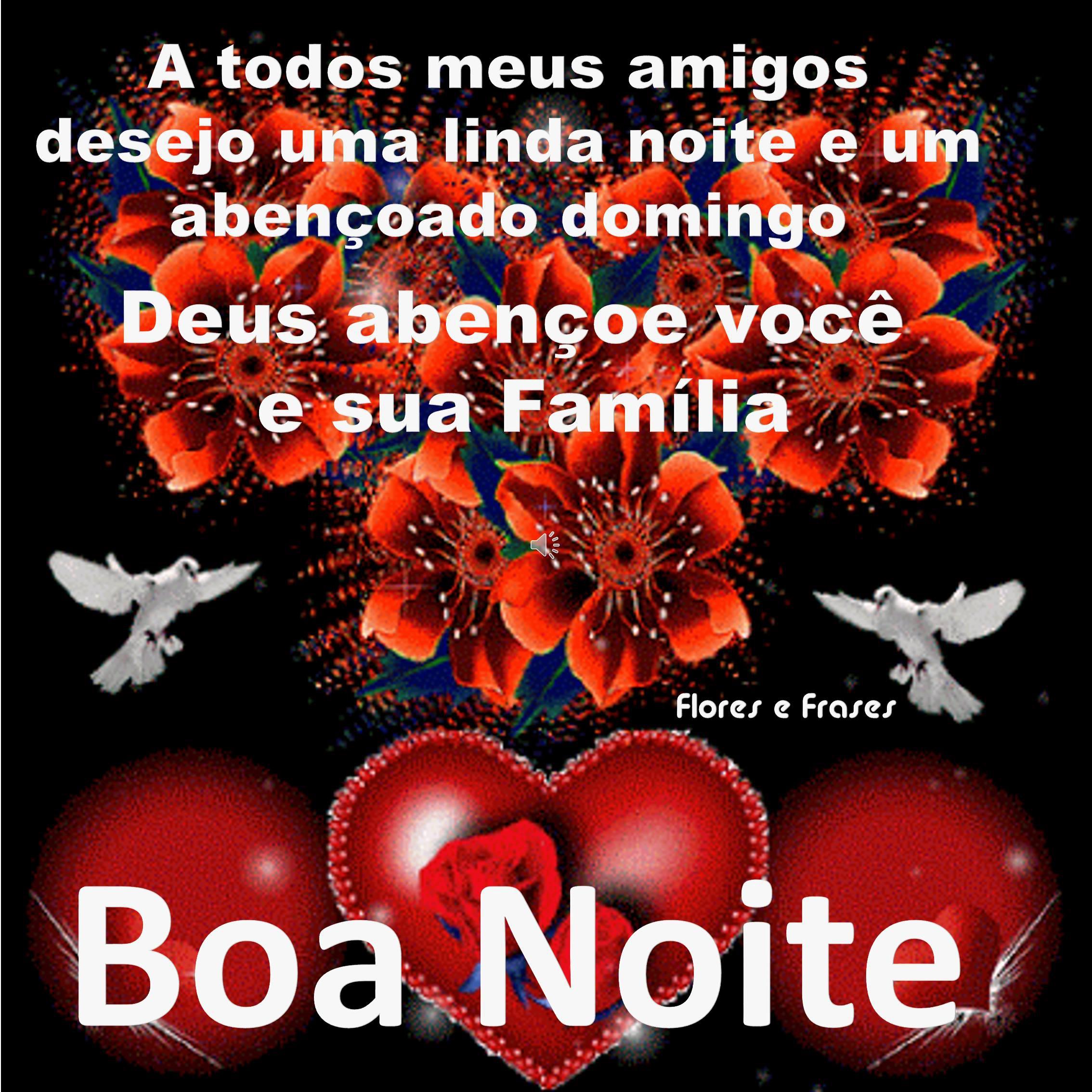 Boa Noite Para Facebook Deus Abençoe Você E Toda Sua Família