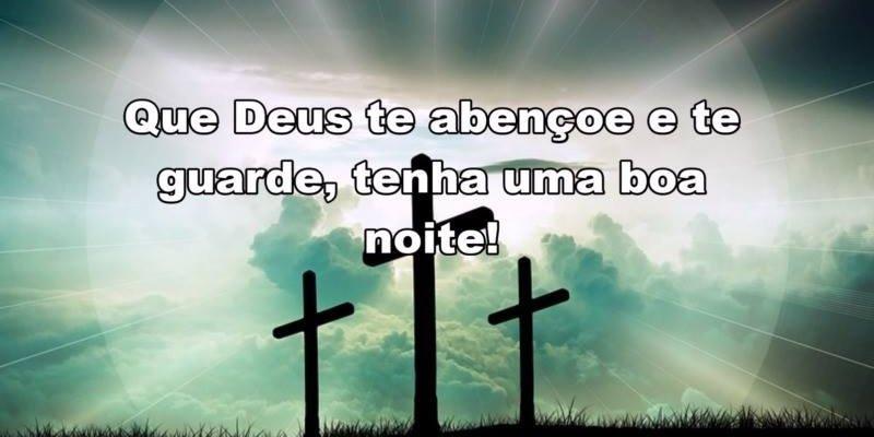 Boa Noite Que Deus Te Abençoe E Te Guarde, Tenha Uma Noite