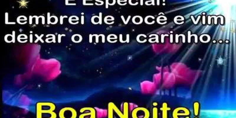 Mensagem De Boa Noite Com Carinho, Fiquem Com Deus Todos