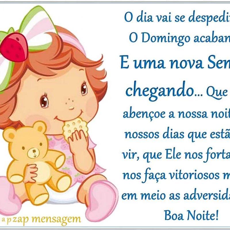 Mensagem De Boa Noite Para Amigos O Domingo Já Esta Acabando Bom