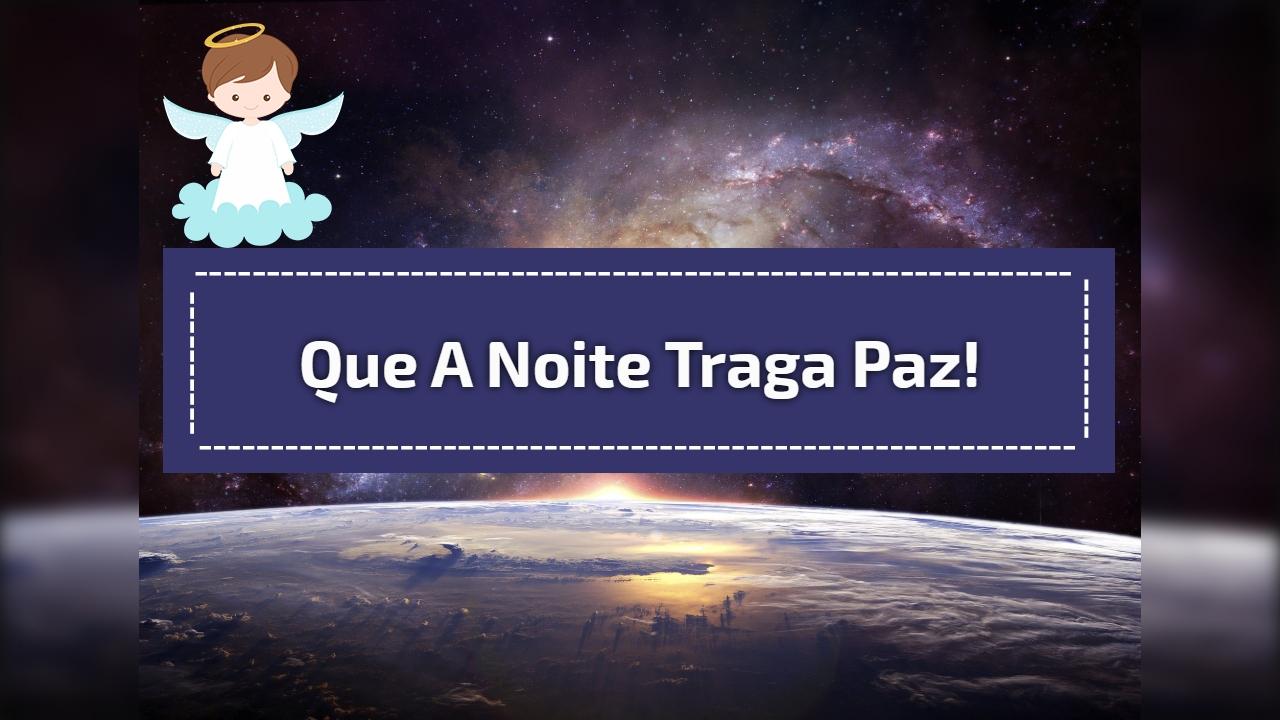 Boa Noite Muita Paz Meu Deus: Que O Amor De Deus Habite Seu Lar Te Trazendo Muita Paz