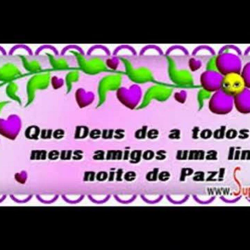 Vídeo Com Mensagem De Boa Noite Para Amigos E Amigas Do Whatsapp
