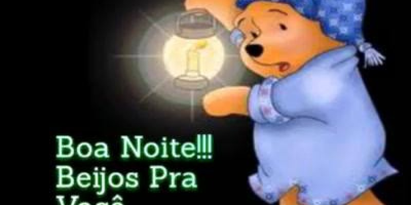 Vídeo De Boa Noite Para Amigos Do Whatsapp Com Ursinho Pooh