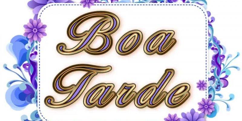 Vídeo com mensagem de Boa Tarde com música e mensagens para amigos!