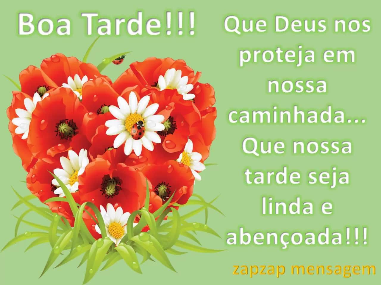 Imagem Boa Tarde rosas vermelhas