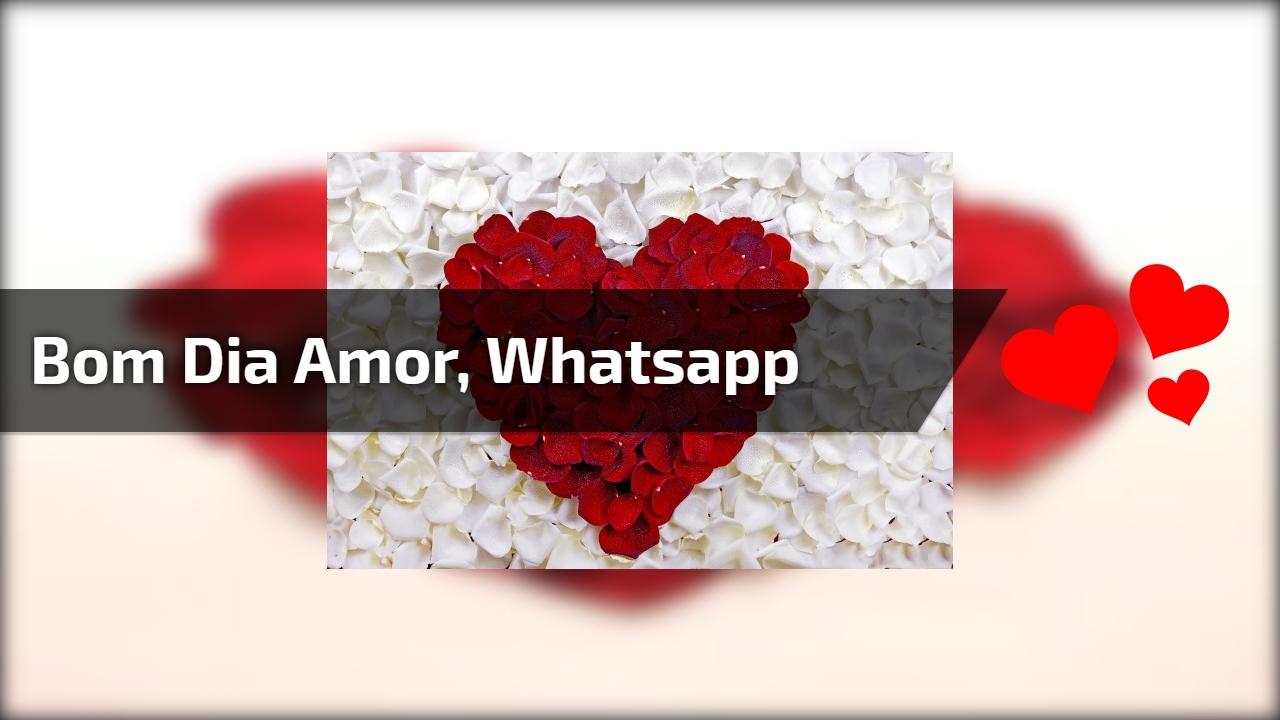 Mensagem De Bom Dia Amor Para Whatsapp Earlyyearwallpaper