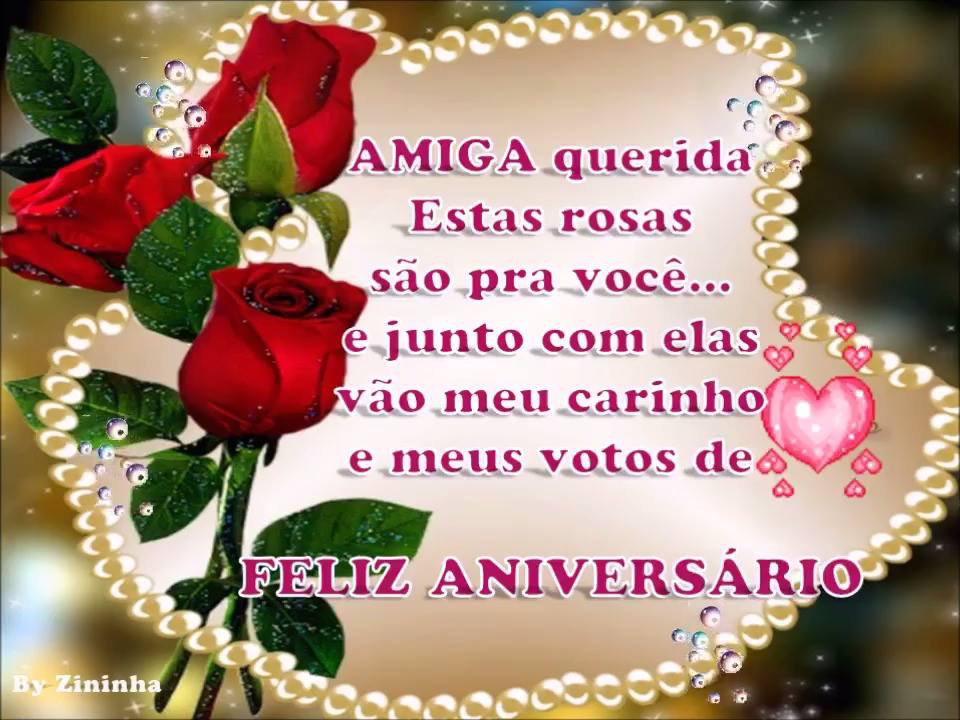 mensagem de aniversário de whatsapp Rosas