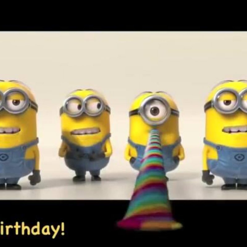 Mensagem De Feliz Aniversario Para Amigo Ou Amiga Especial Com Minions