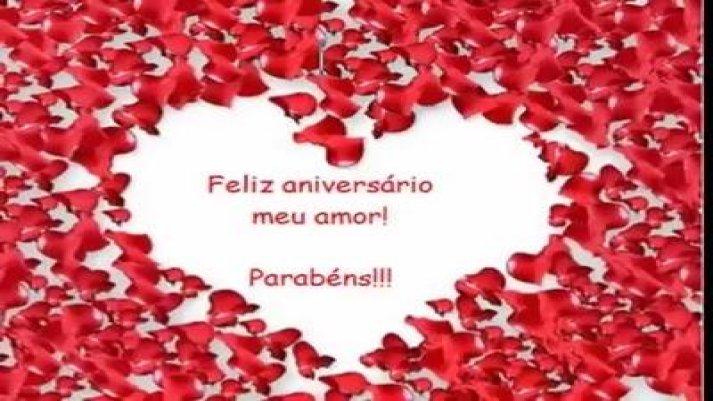 Para Uma Pessoa Muito Especial: Mensagem Feliz Aniversário Meu Amor, Muito Especial Para