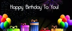 Um Feliz Aniversário animado para amiga ou amigo! Comemore a vida!!!