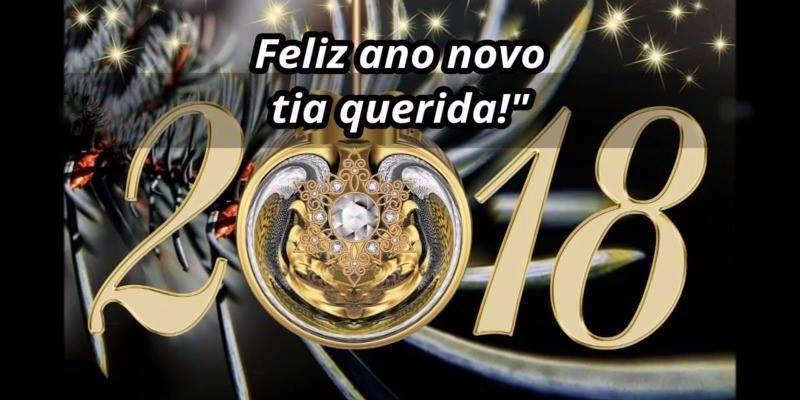 Mensagem De Feliz Ano Novo Para Tio Que Deus Abençoe Toda: Mensagem De Feliz Ano Novo Para Tia. Te Adoro Tia Querida