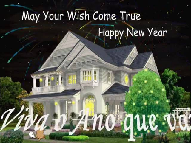 Vídeo Com Mensagem De Feliz Ano Novo Para Compartilhar No