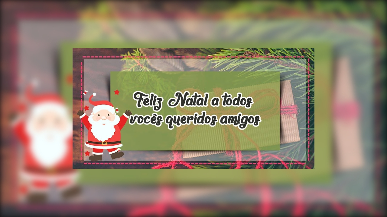 Mensagem De Natal Para Amigos. Que O Amor Esteja Presente