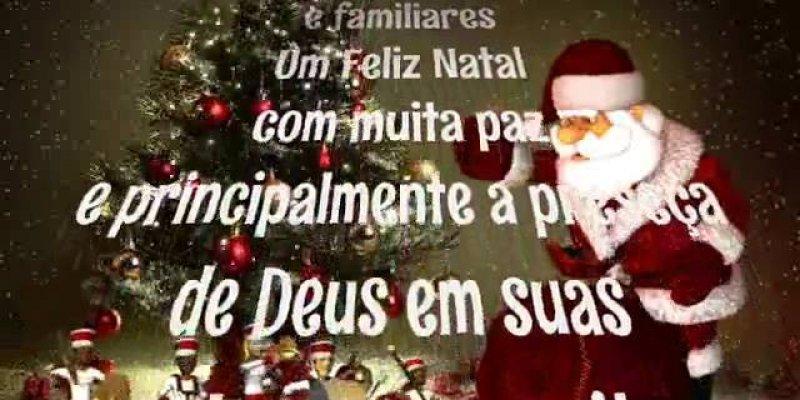 Vídeo com mensagem de Natal para amigos do Facebook, com narração!
