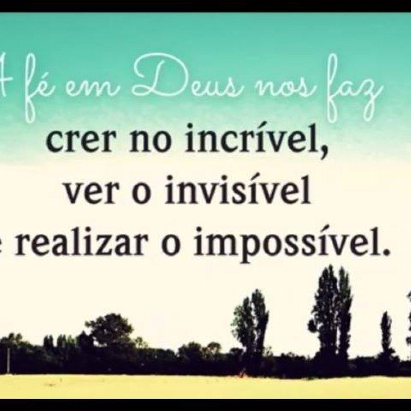 Imagens Com Frases Gospeis Para Facebook A Fé Em Deus Nos Transforma
