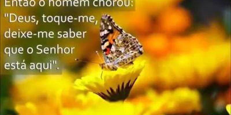 Vídeo com linda mensagem de Deus para você, Deus esta presente sempre!!!