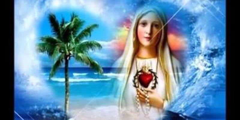 Maria, Oh Mãe cheia de graça - Para compartilhar em seu Facebook!