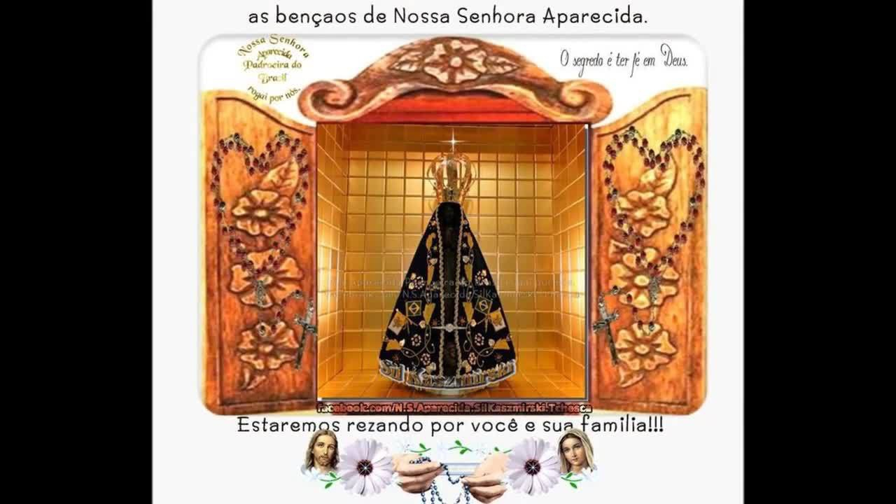 Nossa Senhora Aparecida, Padroeira Do Brasil Rogai Por Nós